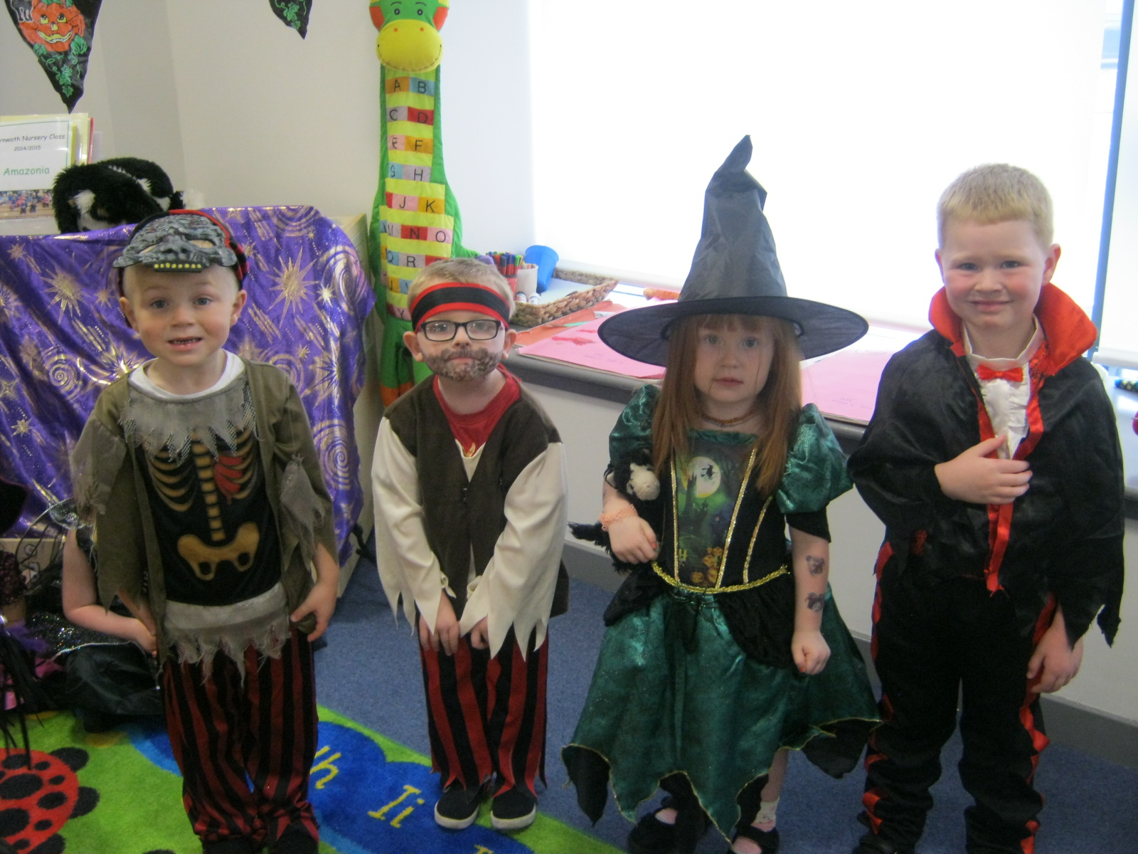Halloween Party 30/10/15   Carnwath Primary School and Nursery Class