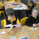 We made 'moving' owls as part of our work in Technologies