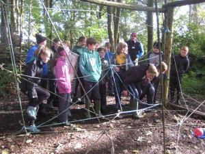 Spider Web Challenge at Wiston