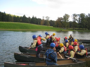 Games on the canoes