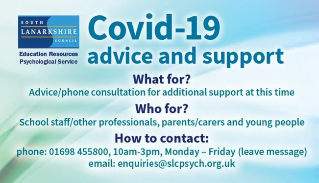 advice and support line